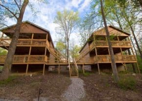 Cave Creek Cabins - Newest Member of the Shawnee Wine Trail Lodging Association